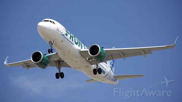 """Airbus A320 (N326FR) - """"Skye"""""""