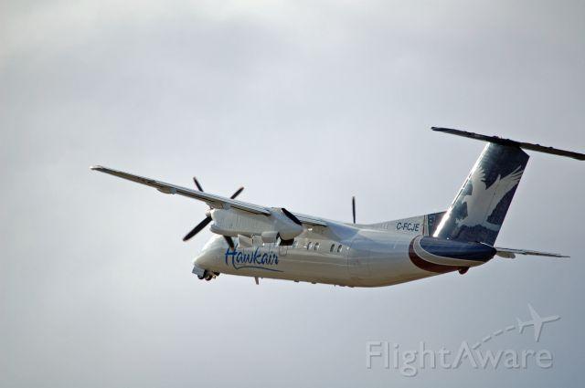 de Havilland Dash 8-100 (C-FCJE) - hawkair