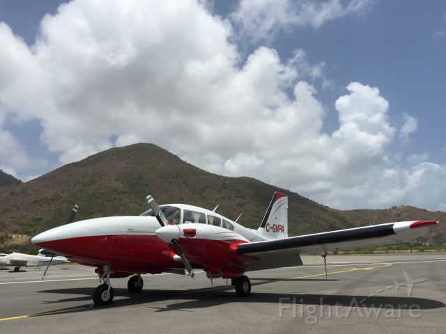 Piper Aztec (C-GNPA) - Spending good time in the Caribbean