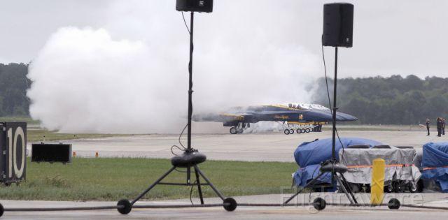McDonnell Douglas FA-18 Hornet — - Angel Smoke Check