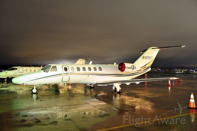 "Cessna Citation CJ3 (N107PT) - Seen at KFDK on 10/17/2009.      <a href=""http://discussions.flightaware.com/profile.php?mode=viewprofile&u=269247"">  [ concord977 profile ]</a>"