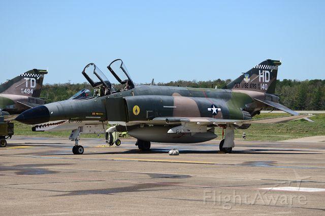McDonnell Douglas F-4 Phantom 2 (72-0140) - LRAFB Airshow, September 2012