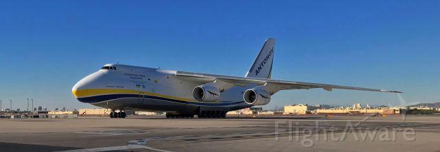 Antonov An-12 (UR-82029) - phoenix sky harbor international airport 28NOV20