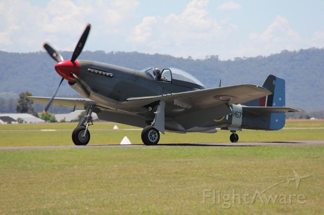 North American P-51 Mustang (VH-JUC) - CAC CA-18 Mk.21 (P-51 Mustang)<br />Manufactured in 1947, Australia<br />Photo: 28.01.2017