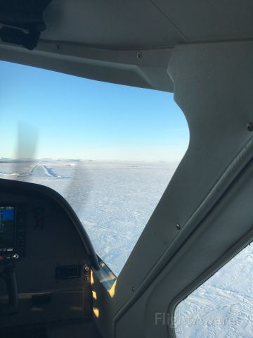 Cessna Caravan — - Short final into Deering, AK
