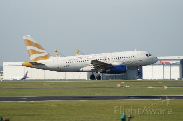 Airbus A319 (G-EUPH)