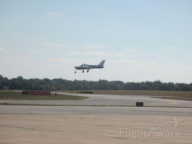 Cessna 310 (N3636C) - Landing at Joplin,MO from Tyler,TX.
