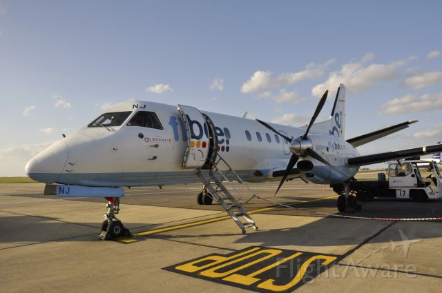 Saab 340 (G-LGNJ) - Flybe/Loganair Saab 340B G-LGNJ landed in Norwich Airport