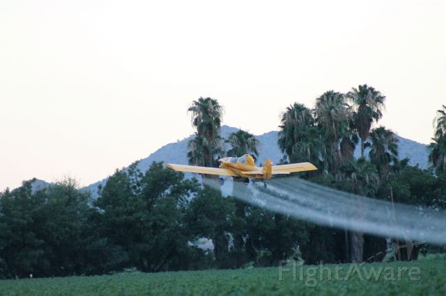 N30958 — - Crop dusting cotton in Queen Creek AZ near 5AZ3