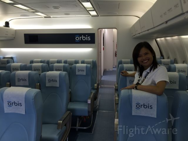 McDonnell Douglas DC-10 (N330AU) - First class seating for 40 physicians and nurses.  Orbis is a teaching hospital.  From these seats the various surgeries can be viewed via CCTV.<br />80% of blindness is preventable.