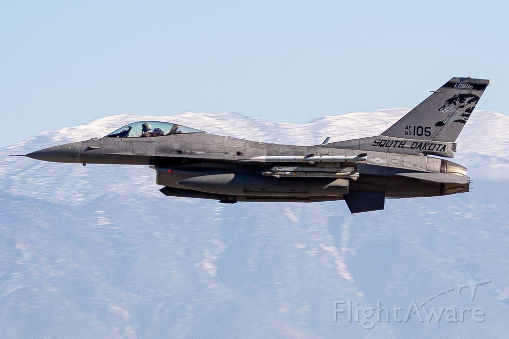 Lockheed F-16 Fighting Falcon (89-2105)