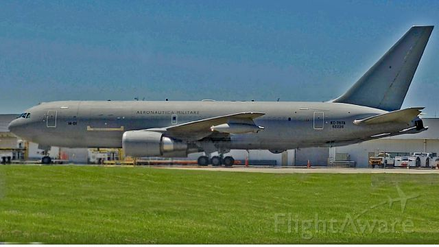 N62226 — -  Italian Air Force KC-767A at Jacksonville International Airport 19 April 2016. Believe this aircraft belongs to 14º Stormo Sergio Sartoff (14th Wing) 8º Gruppo I Cavalieri (8th Squadron) in Pratica di Mare (near Rome, Italy).