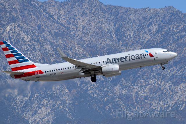 N931NN — - AAL 737-800 departing from Ontario