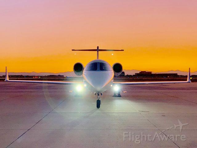 Learjet 45 (CAK1395)