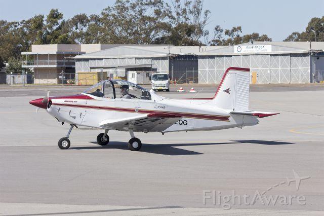VICTA Airtourer (VH-EQG) - AESL Airtourer Super 150 taxiing at Wagga Wagga Airport