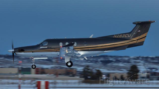 Pilatus PC-12 (N283CU)