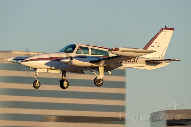 Cessna 310 (N98937) - On approach into Addison Airport RW33. Photo credit IG: @ZFWAviation. Used with permission.