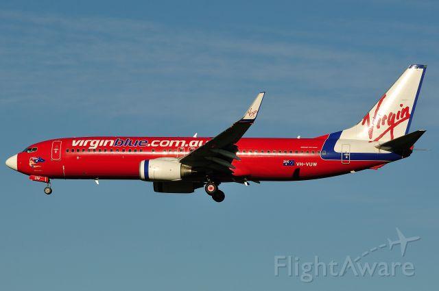 Boeing 737-800 (VH-VUW)
