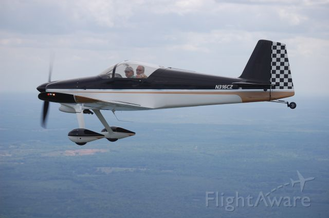 Experimental  (N316CZ) - RV6 IO360