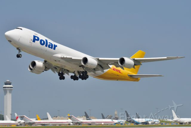 BOEING 747-8 (N851GT) - 07-24-21 18-L bound for ICN.