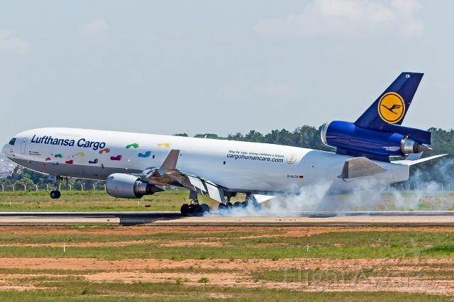 Boeing MD-11 (D-ALCH) - Lufthansa Cargo (Cargo Human Care Livery) - McDonnell Douglas MD-11Fbr /Registration: D-ALCHbr /br /Dakar (DKR) / Campinas (VCP) br /br /Fotografia: Marcelo Luiz