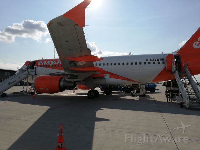 Airbus A320 (G-EZBW) - show me what's under your wing