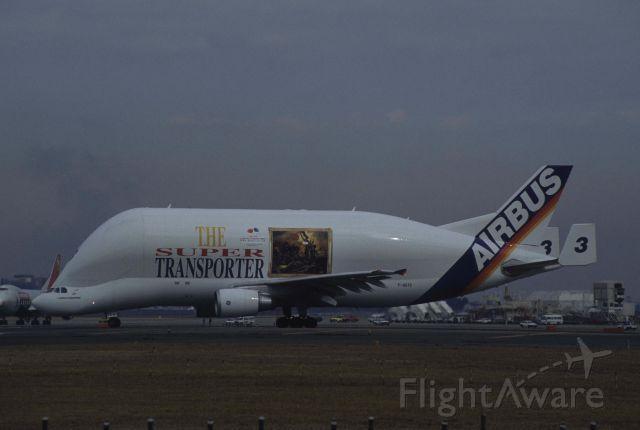 SATIC Super Transporter (F-GSTC) - Departure at Narita Intl Airport Rwy34L on 1999/02/20