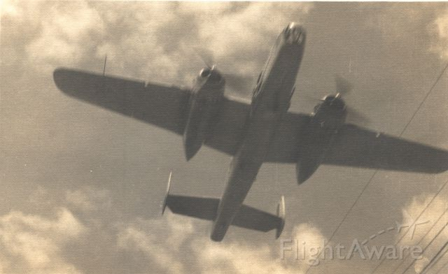 — — - This is a Brazilian Air Force B-27J on a low level flight over Natal, RN in 1951.