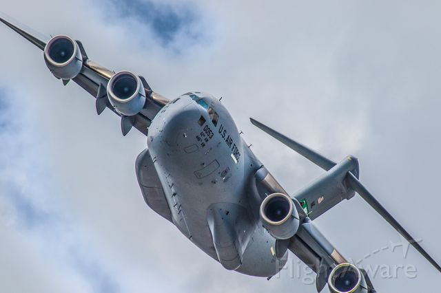 Boeing Globemaster III — - This photo is of a C17 doing a low and slow pass over the 2021 Sun N Fun aerospace expo in Lakeland Florida. I used 600mm of Canon lens and the camera settings were 1/2000 F9 ISO 500. Please check out my other photography. Positive votes and comments are always appreciated.