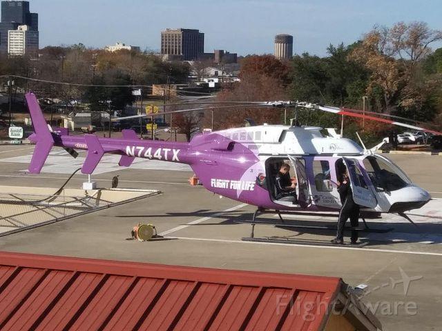 Bell 407 (N744TX) - CHRISTUS Trinity Mother Frances Flight for Life, Tyler, Texas, 11.24.2019