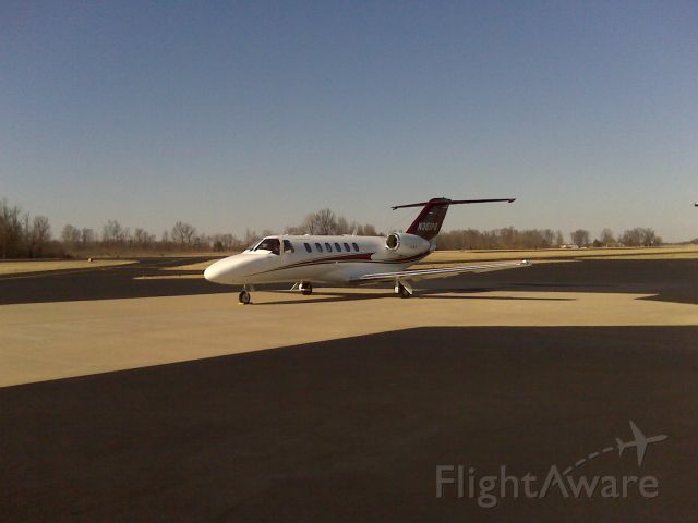 Cessna Citation CJ1 (N301PG) - Pictured on the ramp at M91