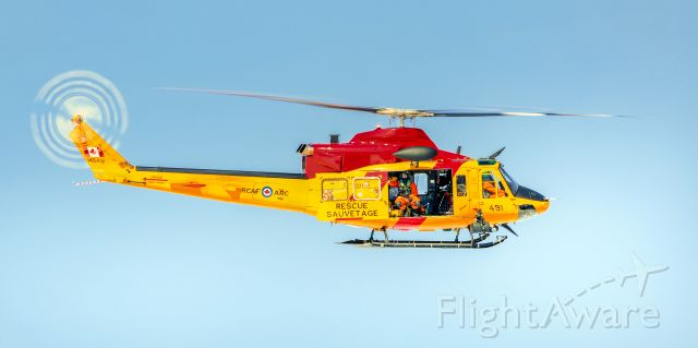 Bell 412 (14-6491) - Search and Rescue Bell CH-146 Griffon helicopter out of CFB Trenton, Ontario, Canada.