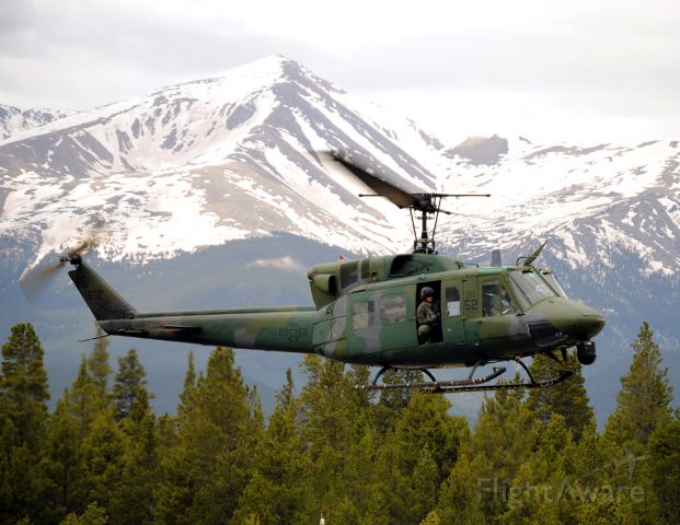Bell UH-1V Iroquois — - This happened to be a Colonel