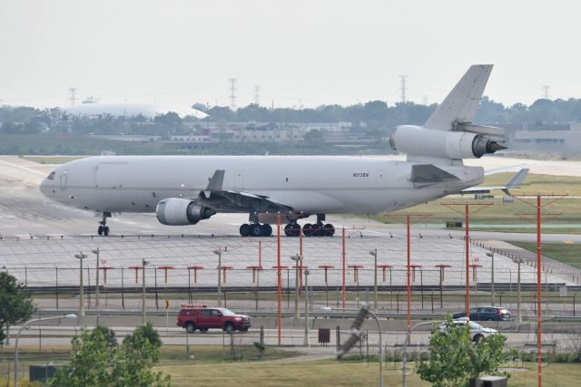 Boeing MD-11 (N513SN) - Taking 22-L on 05-24-21