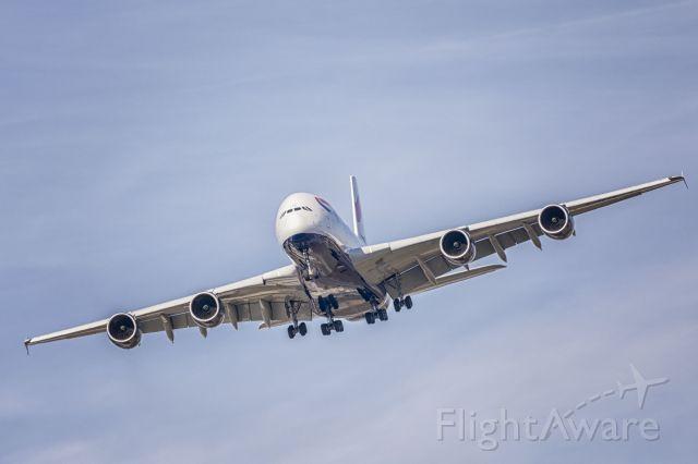 Airbus A380-800 (G-XLEG)