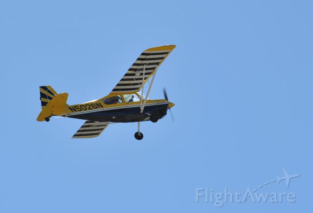 CHAMPION Decathlon (N5026N) - Leaving runway 27 KAXH for some aerobatic flight.
