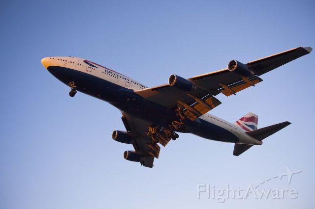 Boeing 747-200 (G-CIVY) - Sepulveda blvd. LAX