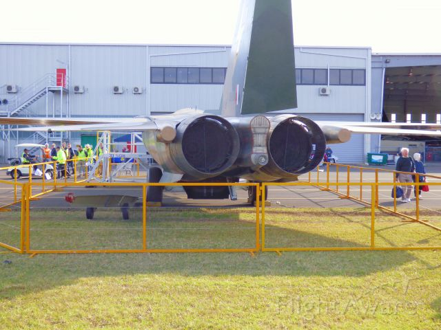 Grumman EF-111 Raven (A8109) - Taken at YWOL Wings over The Illawarra 2014 . The Business  end of the Pig