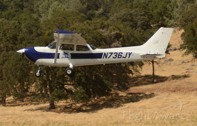 N736JY — - Landing Mariposa airport
