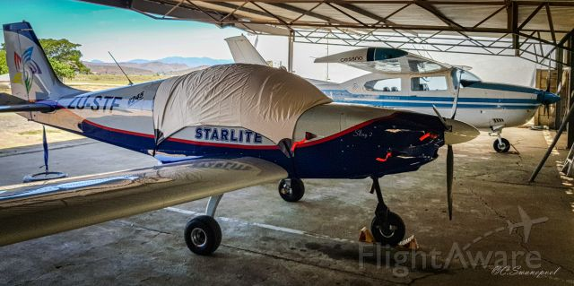 ZU-STF — - My Navigation flight to Worcester SA. Overnight Hangarage at the Worcester flying club.