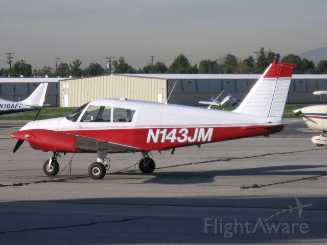 Piper Cherokee (N143JM) - Parked at Fullerton