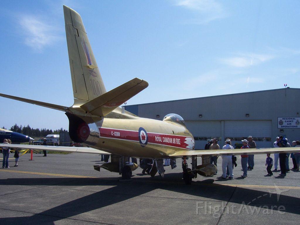 North American F-86 Sabre (C-GSBR)