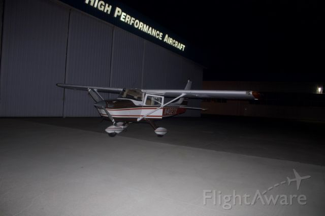 North American Rockwell 100 Darter Commander (N4027X) - Ready to be tucked away at High Performance after a long days flying.