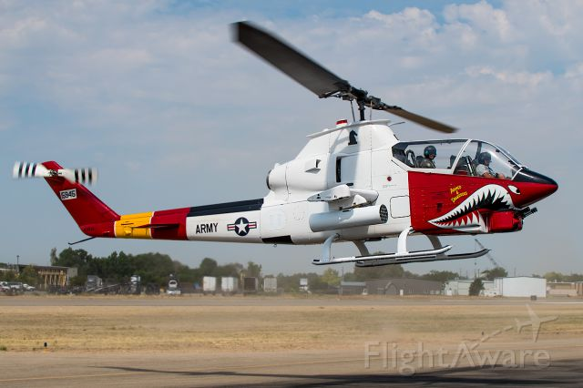 """N102JG — - Warbird Roundup 2015: Full Quality Photo: <a rel=""""nofollow"""" href=""""http://www.airliners.net/photo/Bell-AH-1G-Cobra/2667916/L/&sid=76d35736c2e4e543fd49b9bc481b748c"""">http://www.airliners.net/photo/Bell-AH-1G-Cobra/2667916/L/&sid=76d35736c2e4e543fd49b9bc481b748c</a>"""