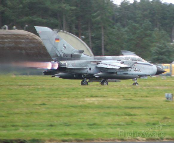 — — - GAF Tornado 46+35 at RAF Leuchars 3/10/12
