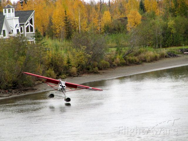 N1324A — - Cool takeoff from an Alaskan river