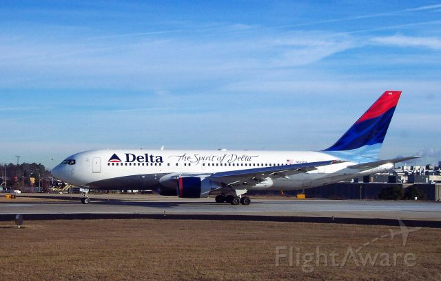 N102DA — - Spirit of Delta lines up for takeoff from ATL Runway 26L