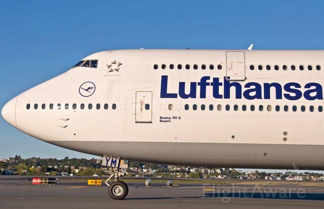 BOEING 747-8 (D-ABYM) - Lufthansa German Airlines B747-800I City of Bayern
