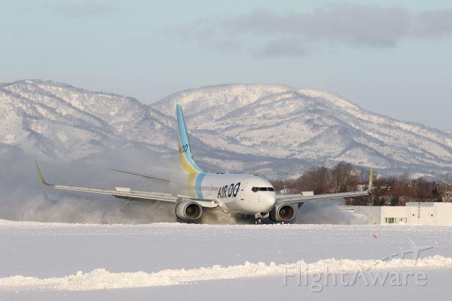Boeing 737-700 (JA08AN) - 25 January 2016:HND-HKD.ADO Flight No 57.