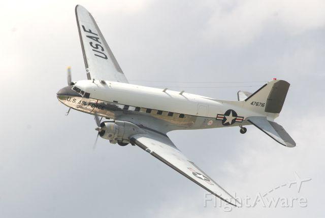 """Douglas DC-3 (N8704) - The Yankee Air Museum DC-3 """"Yankee Doodle"""""""